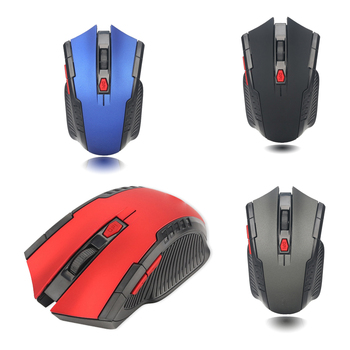 2.4G Wireless Mouse 1600 DPI Adjustable 6 Buttons Gaming Mouse With Nano Receiver Wireless Mouse for Computer/Laptop rii rm200 2 4g wireless mouse 5 buttons rechargeable mobile optical mouse with usb nano receiver 3 adjustable dpi levels for pc