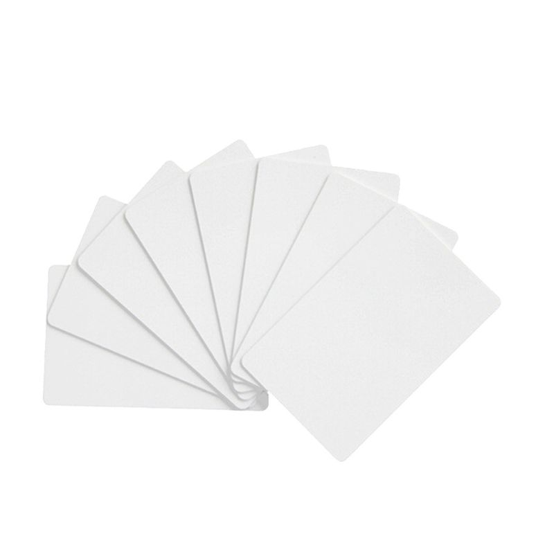 10PCS <font><b>NFC</b></font> NTAG215 White Card For TagMo <font><b>Tags</b></font> Chip <font><b>Stickers</b></font> <font><b>Tag</b></font> Lable Forum Type2 <font><b>Sticker</b></font> for <font><b>NFC</b></font> Enabled Devices 95AD image