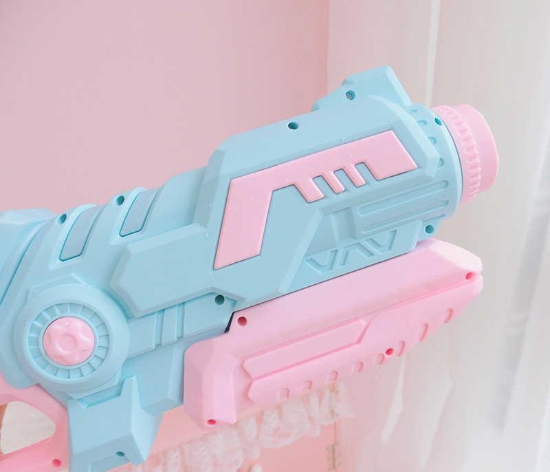 חדש גדול למשוך החוצה ורוד מים אקדח צעצוע ילדים חוף להשפריץ צעצוע לשחות קיץ בריכה חיצוני ילדים צעצוע המפלגה