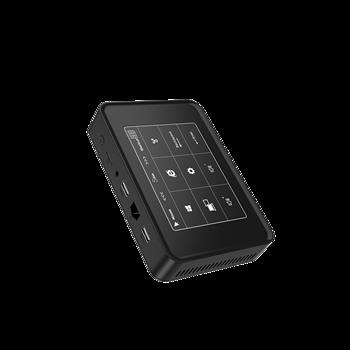 newest touch panel windows10 mini pc Apollo Lake Celeron J3455 LPDDR3L 6GB SSD 128GB windows 10 mini desktop computer