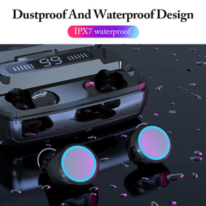 Image 5 - T11 TWS Bluetooth Wireless Earphone 8D Surround Stereo Earbuds Wireless Headset With 3300mAh Power Bank LED Display For Phones