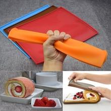 Silicone Mat Swiss-Roll-Mat Cake-Tools Baking-Mat Pizza