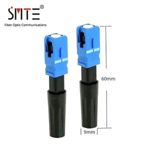 Image 3 - 500 teile/los SC UPC 8802 TCL/3 60mm FTTH Fiber optic SC stecker SC/UPC SC UPC fiber optic