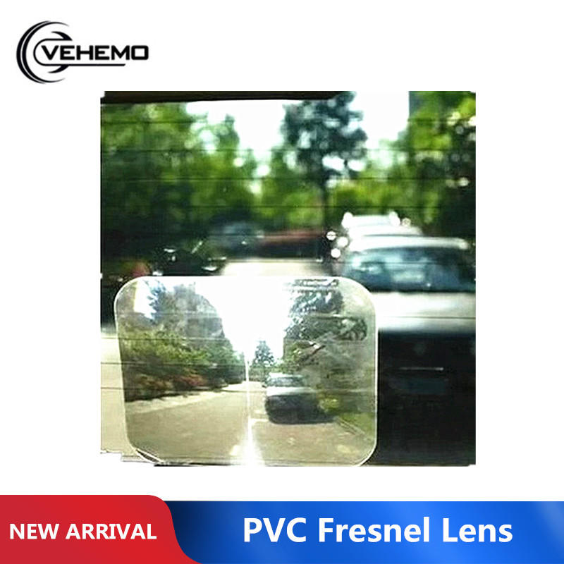 Vehemo Hot Wide Angle Fresnel Lens Car Parking Reversing Sticker View Angle Optical Fresnel Lens Sticker Car Styling