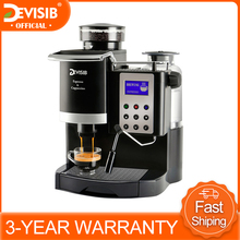 Coffee-Machine-Maker Grinder Milk-Warmer Make Espresso Barista Cappuccino Latte DEVISIB