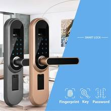 COOL Digital Intelligent Biometric Fingerprint password smart lock Smart Door Lock Hand Fingerprint High Recognition Control