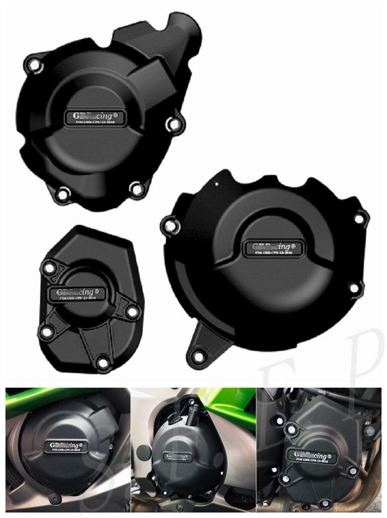Motorcycle Engine Case Guard Protector Cover GB Racing For Kawasaki Z1000/SX 2011-2019 & Ninja 1000SX 2020