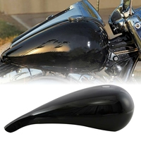 5 Stretched 4.7 Gallon Gas Fuel Tank For Harley Baggers Chopper Bobber Motorcycle Bike Touring Road Street Electra Glide Custom