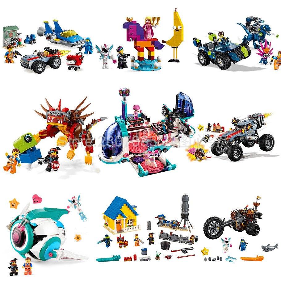 Movie 2 Series Sweet Mayhem's Systar Starship Model Building Block Model Set Bricks Toys Gift Movie 70830 70828 70829 70831