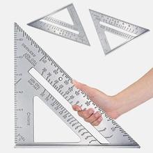 Ruler Guide Scriber-Saw Measurement-Tool Carpenters Miter Square Aluminum-Alloy for Triangle