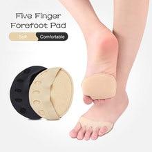 1 çift kaymaz düzeltici ayak çorap nefes kadınlar yüksek topuklu görünmez çorap astarı ön ayak ağrısı geçirmez rahat tabanlık