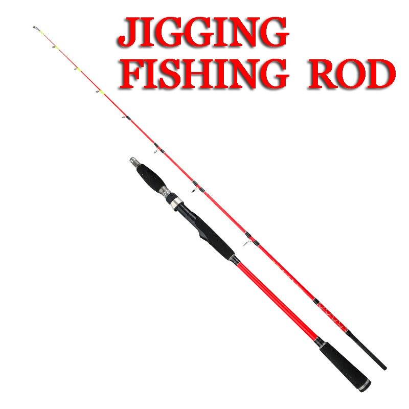 1.5m 1.68m 1.8m Sea Boat Jigging Fishing  Seat Ocean Rod Carbon Fiber Spinning Saltwater Fishing Rod