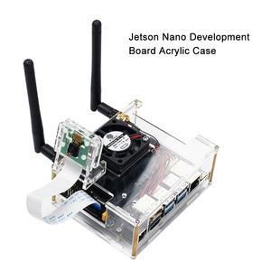 Image 2 - NVIDIA Jetson Nano Developer kit Clear Acrylic Case for Jetson Nano with Cooling Fan