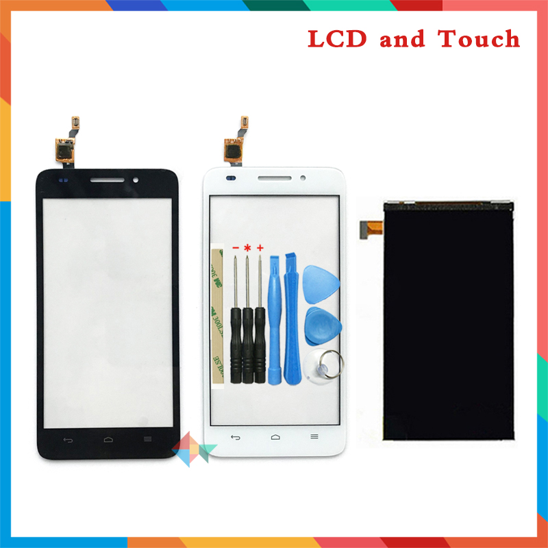 high quality 5.0'' For <font><b>Huawei</b></font> <font><b>G620S</b></font> <font><b>Lcd</b></font> Display <font><b>Screen</b></font> + <font><b>Touch</b></font> <font><b>Screen</b></font> Digitizer Sensor Free Shipping image