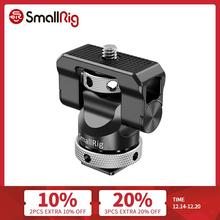 SmallRig Camera EVF Mount Swivel 360 Degree & Tilt 140 Degree Monitor Mount w/ Cold Shoe Flash Adapter Microphone Bracket 2346