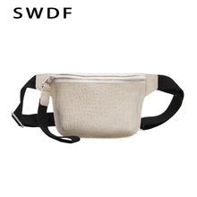 SWDF New Waist Bags Women Designer Fanny Pack Fashion Belt Snake Skin Belts High quality Female Purse Chest Phone Pouch