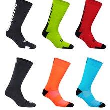Профессиональные брендовые велосипедные носки, дышащие спортивные велосипедные носки для улицы, носки Baketball, мужская и женская обувь для бе...