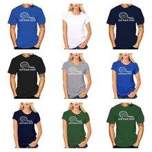 Yeni bir parça zihin trenler T-shirt buharlı tren motor lokomotif parça doğum günü Yeni moda erkek erkek T Shirt pamuk erkekler erkek üstleri