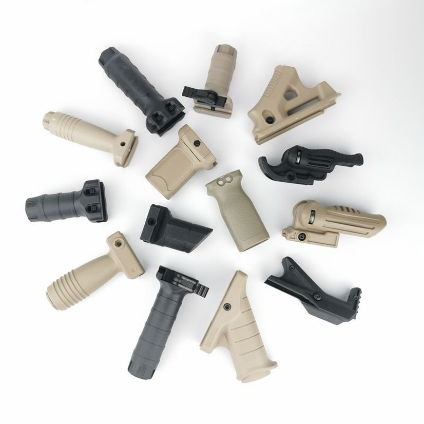 ABS Tactical Foregrip Handle Grip For JinMing Gel Ball Game Water For Toy Guns Accessories RVG MOE AFG Water Gun Grip
