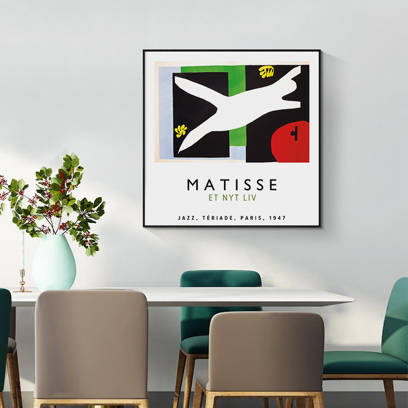 Matisse Et <font><b>Nyt</b></font> Liv Canvas Painting Vintage Vogue Poster Pop Art Print Decoration Wall Picture For Living Room Home Decor image