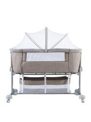Baby bed portable folding crib newborn