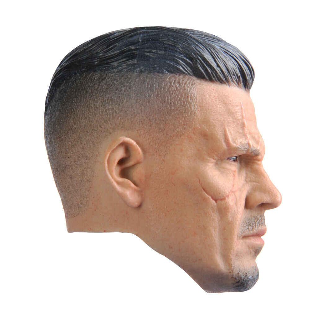 """1//6 Scale Deadpool 2 Cable Head Sculpt for 12/"""" Action Figure"""