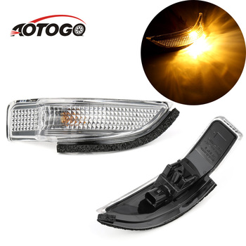 Per il 2011-2015 Toyota camry hybrid yaris vitz premio Specchio Indicatore di Lampada LED Accendere LA Luce di Segnale Ala Laterale Specchio indicatore 2pcs