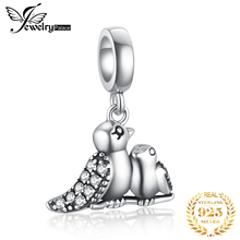 JewelryPalace Birds 925 Sterling Silver Beads Charms Original For Bracelet original Jewelry Making