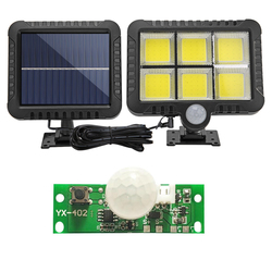 3.7V DIY Solar Light Board Control Sensor module garden Light Controller Module Infrared Solar Lamp Panel Circuit Board