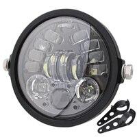 5.75 Projector Turn Signal Light LED Motor Headlight For Triumph Thunderbird Storm For Harley Dyna Sportster 1200 883