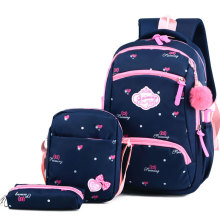 Litthing children school bags girls backpack bookbags kids princess primary mochila infantil
