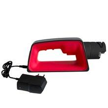 Бренд Nuoten, профессиональная электрическая точилка для кухонных ножей, моторизованный вращающийся ножничный точильный камень, 110 В 220 В