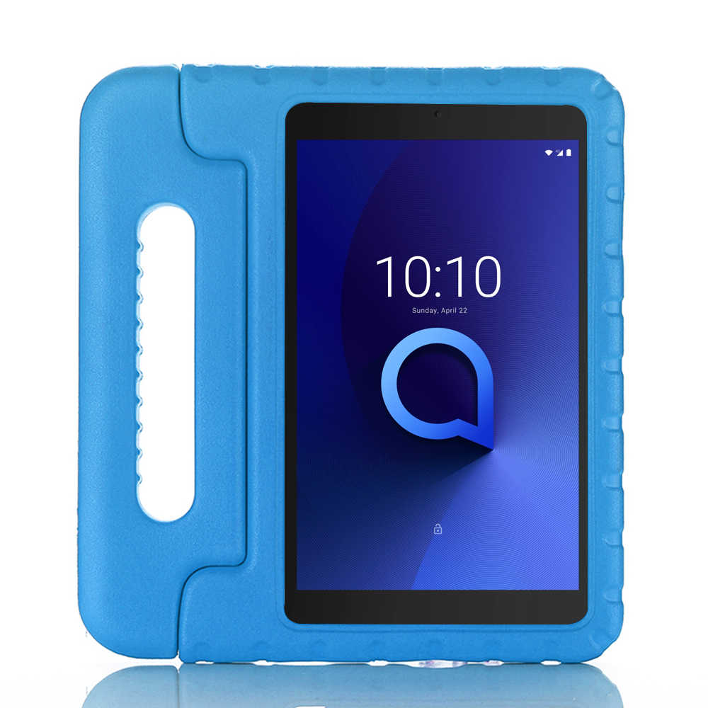 Funda para 10.1 Alcatel 3T 10 Inch Tablet 2019 Soporte Plegable PU Funda de Cuero con Cierre el/ástico-P/úrpura