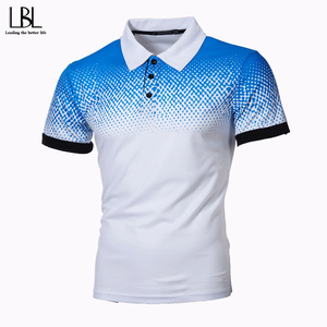 2020 Mens Polo Shirts Gradient