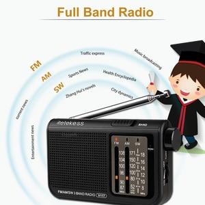 Image 2 - RETEKESS V117 AM FM SW Portable Radio for the elder Transistor Radio Receiver Short Wave Battery Powered Advanced Tuner Receiver