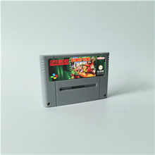 Donkey Country 1 2, ¡Diddy Kongs Quest 3, Dixie Kongs Double Trouble! Competición tarjeta de juego RPG versión europea ahorro de batería