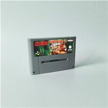 Donkey Country 1 2 Diddys Kong Quest 3 podwójne kłopoty Dixie Kong! Konkurencja karta do gry rpg wersja EUR oszczędzanie baterii
