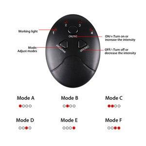 Image 5 - Masajeador eléctrico EMS para pies, masajeador de fisioterapia ABS revitalizante para pedicura Tens, vibrador pies inalámbrico Estimulador muscular Unisex