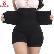 GUUDIA Firm brzuch bielizna modelująca szorty gorset modelujący talię Hi-Waist Butt Lifter udo Slimmer Boyshorts kontrola brzucha krótki
