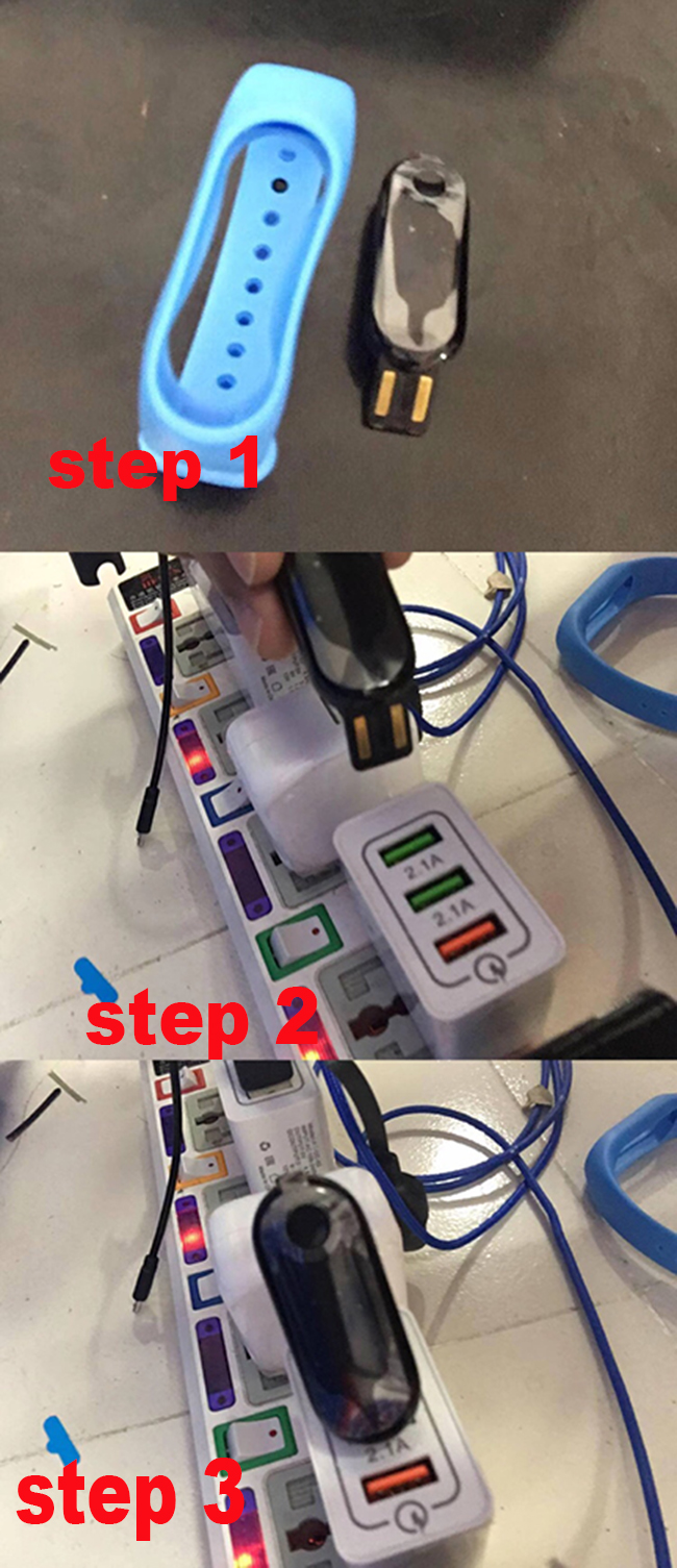 how to charge M3