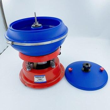 цена на Free Shipping Jeweller Tools 220V Vibrating Tumbler 3kg Capacity 8
