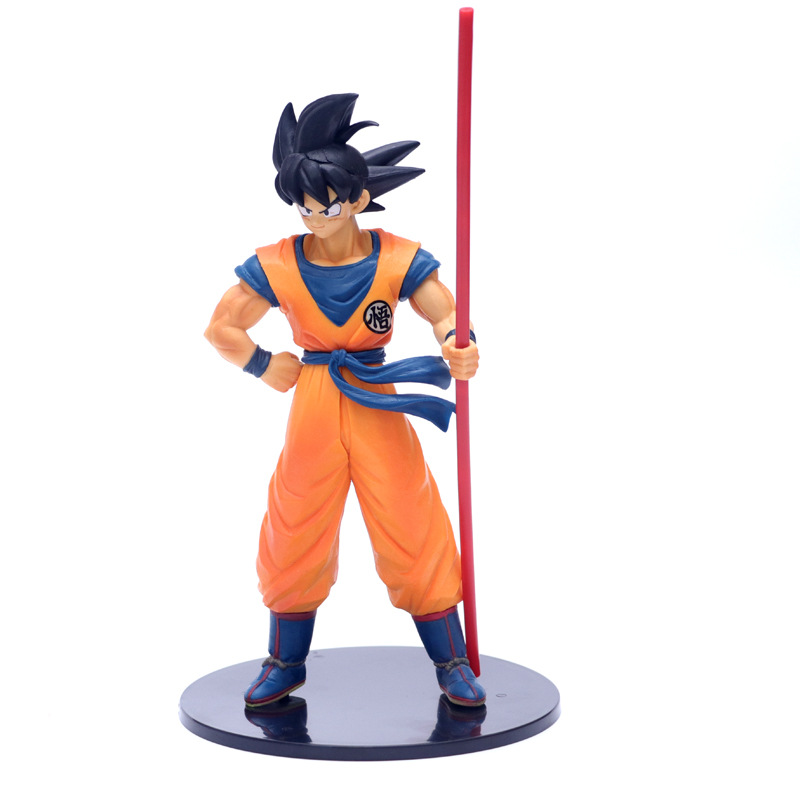 Son Goku Action Dragon Ball Z Toys For Children Anime Figurine Figure PVC Model Brinquedos Black Hair Goku 20th Anniversary Doll
