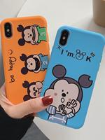Cartoon anime all inclusive Apple 11/7/8 mobile phone case for iPhone5s anti fall tpu protective cover xsmax tide003