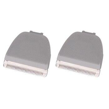 2 uds cuchilla de repuesto para cortapelos para Codos CP-6800 KP-3000, gris