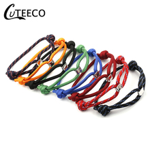 CUTEECO Fashion Concentric Bracelet Couples Simple Gift Jewelry WholesaleAnchor Bangle For Woman Man