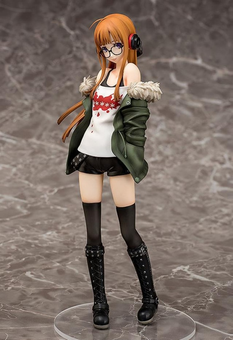 Persona 5 PVC Action Figure Anime Toy Futaba Sakura P5 <font><b>Sexy</b></font> Beauty Girl 1/7 <font><b>Scale</b></font> Collectible Model Toy image