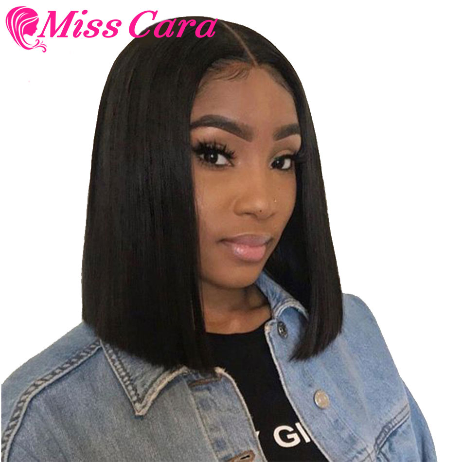 613# Grey Pink 1B/27 Short Bob Wigs Lace Frontal Human Hair Wigs Pre Plucked Malaysian Straight Wigs Miss Cara Remy Hair Wigs