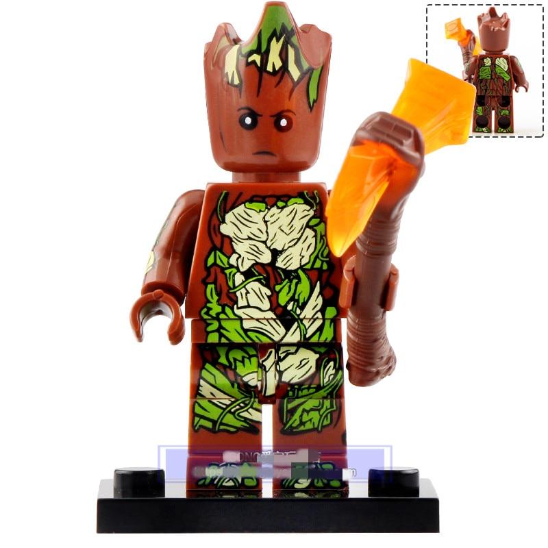 Lego City Moc Minifigure Gift For Kids Tree Man