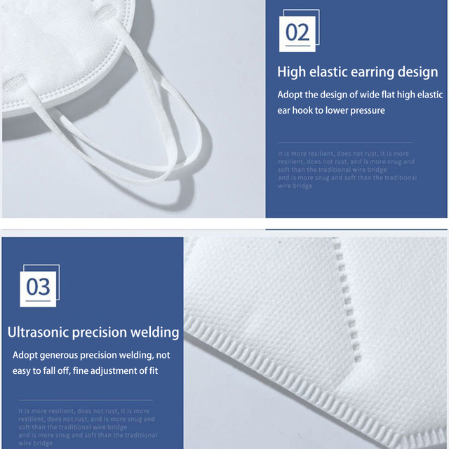 10PCS Protective Mask for Men Women Cotton 4 Layer Disposable Dustproof Face Mouth Masks Anti PM2.5 Influenza Anti Flu Masks 4