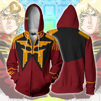 100cm-150cm Unisex Pullover Sweatshirt Gundam Hoodies Children 3D Printed Streetwear Hip Hop Warm Hooded for Kids